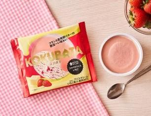 日本LAWSON便利商店☆5項在2021年春季上架的草莓系列甜點