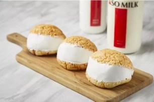 「三星牛奶專售店 BAKE&MILK」新商品☆ ASO MILK霜淇淋、甜點麵包 Maritozzo