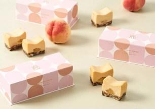 日本BAKE副品牌♡2021年夏季限定「白桃與格雷伯爵茶的CHEESE TERRINE」