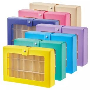 日本文具品牌LIHIT LAB.新商品☆內附隔板便於收納「收藏置物盒」共7色