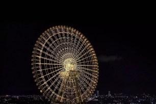 關西‧大阪「OSAKA WHEEL」2021年10月限定點燈!香奈兒「N°5 THE RIGHT NUMBER」