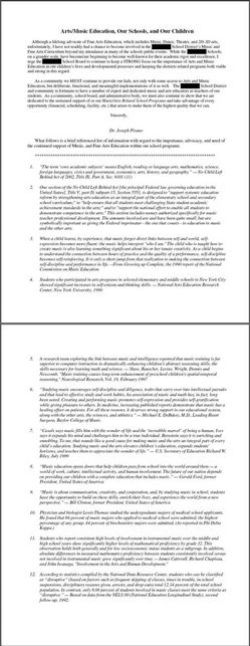 Advocacy Document, Click to Enlarge