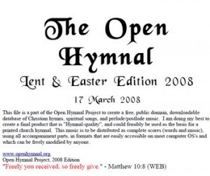 The Open Hymnal
