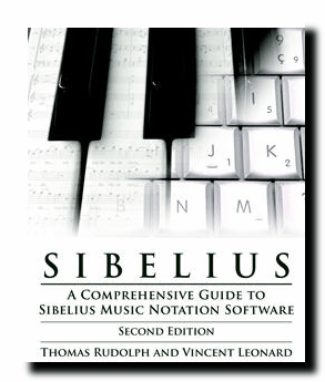 Sibelius Notation Book by Tom Rudolph