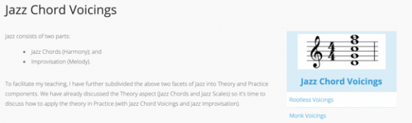 Jazz Scale Theory