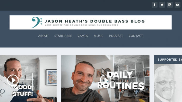 Jason Heath's Double Bass Blog -Music Education and Music Teacher Blogs