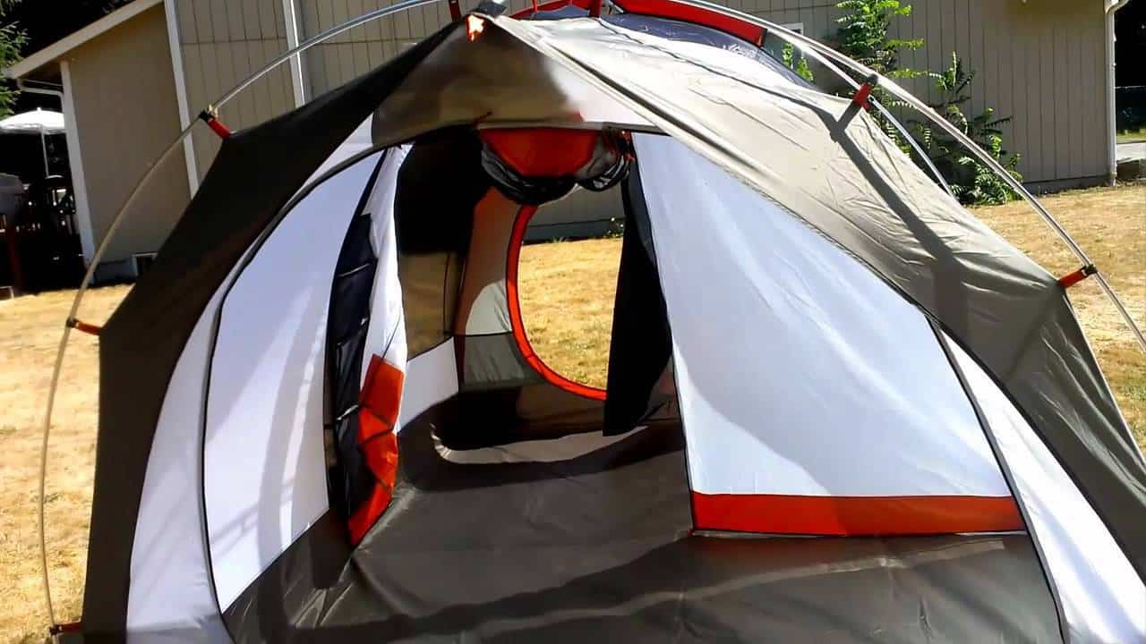 The REI Kingdom Tent & How does REI\u0027s Kingdom weather a storm? | Must Go Camping