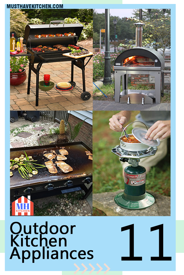 outdoor kitchen appliances packages