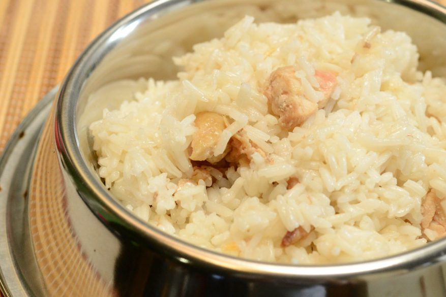 chicken and rice dog food