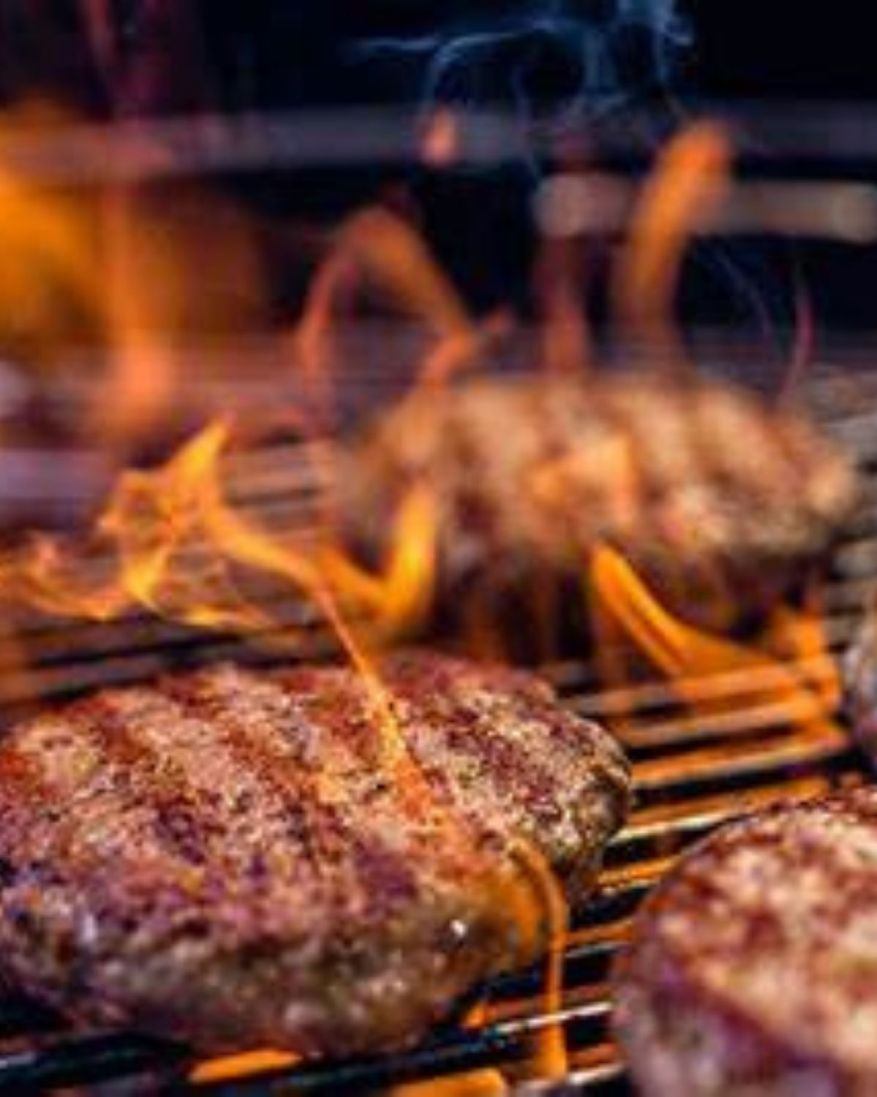 grill frozen burgers