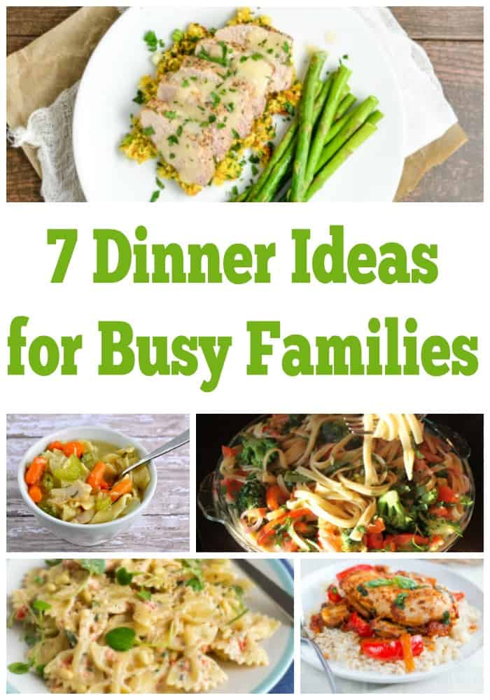 Quick Easy Yummy Dinner Ideas