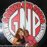 Susan Cingari with UFC fighter Marcus Brimage