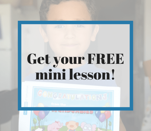 Get your FREE Mini Online Piano Lesson with Must Love Music!