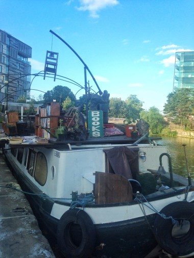 Book barge regents canal