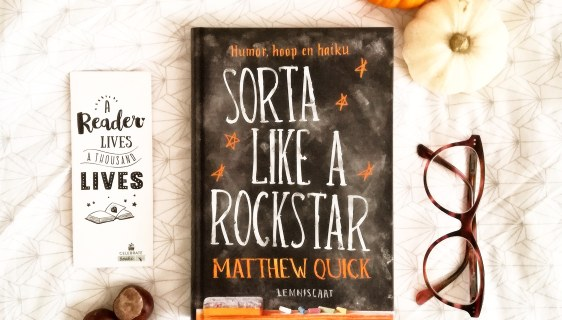 recensie sorta like a rockstar Matthew Quick