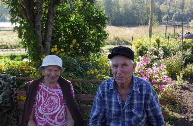 Пенсионеры из Суны Надежда и Петр Кудряшовы. Фото: Алексей Владимиров