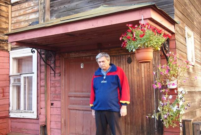 Валерий Пучков - неуступчивый жилец Дома Захаровых. Фото: Валерий Поташов