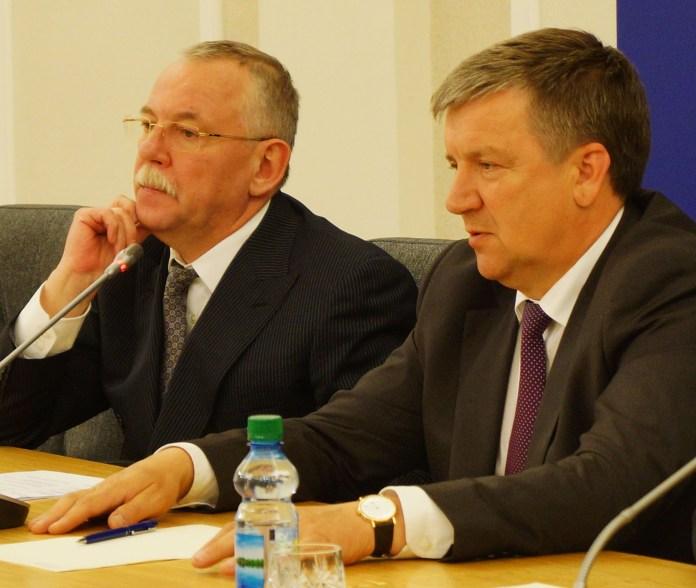 В 2012 году Александр Худилайнен сменил на посту главы Карелии Андрея Нелидова, который сейчас находится под стражей. Фото: Губернiя Daily