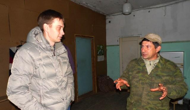 Андрей Рогалевич и Александр Сушонков. Фото: Алексей Владимиров