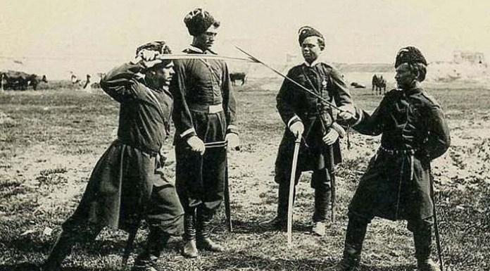 Казаки. Архивное фото