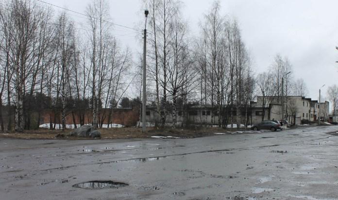 Дорога к сегежской колонии. Фото: Наталья Соколова