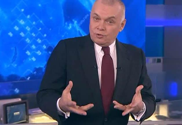 Российский телеведущий Дмитрий Киселев - рупор официальной пропаганды. Фото: sovety-24.ru