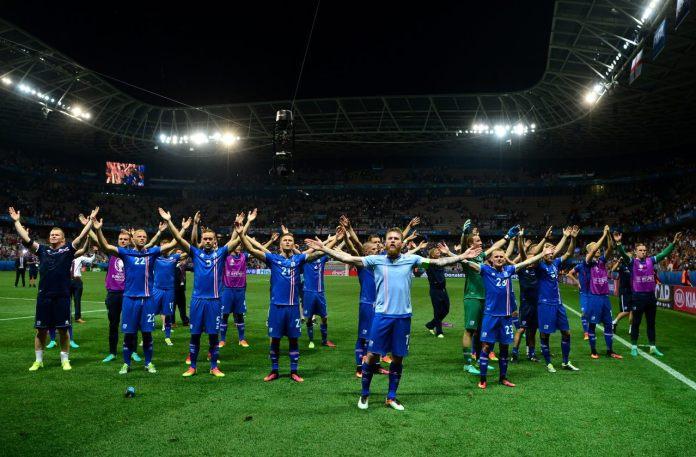 Сборная Исландии по футболу. Фото со страницы Футбольной ассоциации Исландии в Facebook