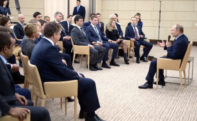 Президент России Владимир Путин объявил патриотизм национальной идеей страны. Фото: президент.рф