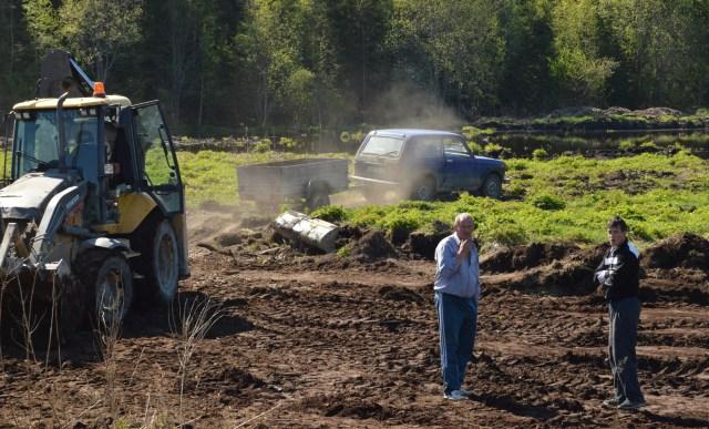 Плодородную почву в Приладожье разворовывают все, кому не лень и кому позволяет совесть и местные власти. Фото: Александр Луговской