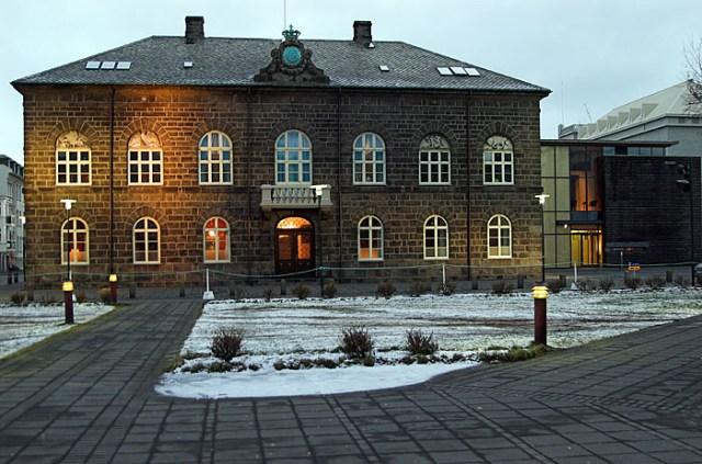 Парламент Исландии. Фото: wikimedia.org