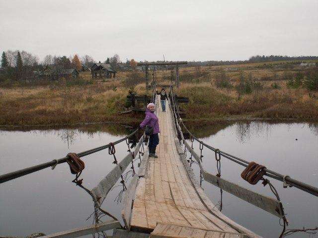 По мосту уже страшно ходить. Фото: Татьяна Смирнова
