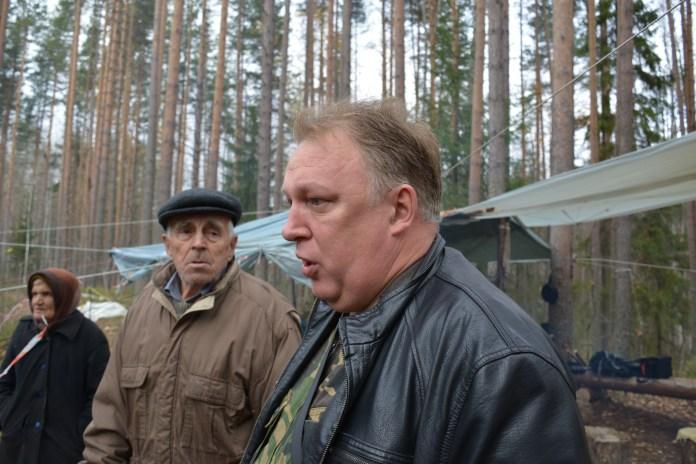 Компания этого человека уничтожает Сунский бор. Фото: Алексей Владимиров