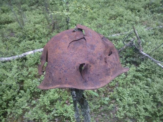 Каска советского бойца. Фото: Андрей Туоми