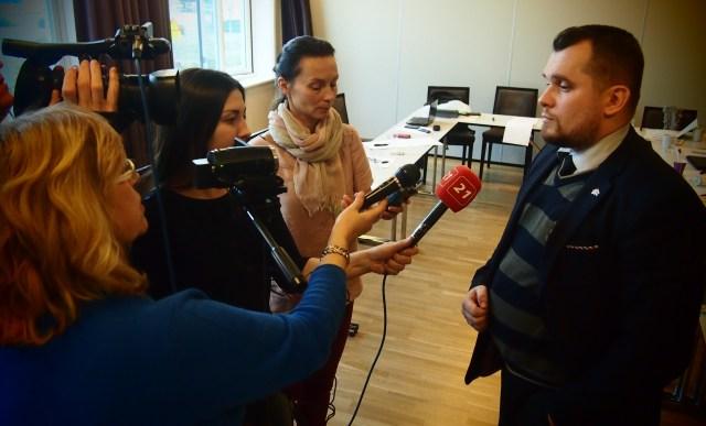 Игорь Лапицкий на встрече с российскими журналистами. Фото: Валерий Поташов