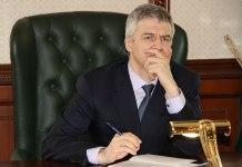 Временно исполняющий обязанности главы Карелии Артур Парфенчиков. Фото: Илона Радкевич