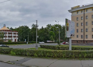 Предполагаемое место строительства часовни. Фото: Валерий Поташов