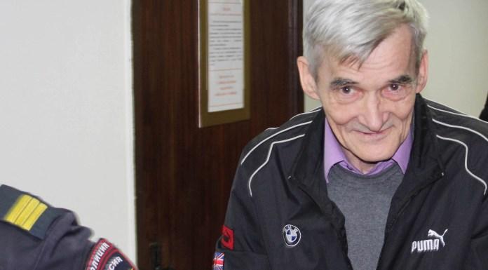 Исследователь сталинских репрессий Юрий Дмитриев находится под стражей с конца прошлого года. Фото: Валерий Поташов