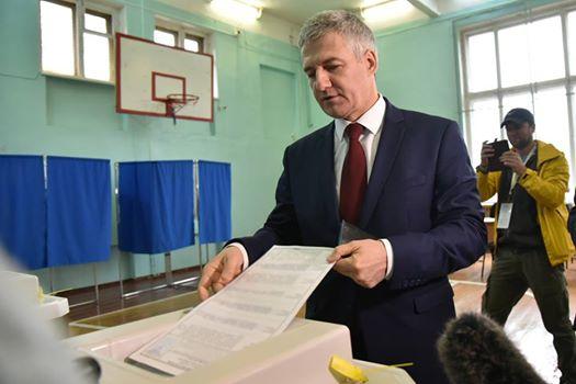 Врио руководителя Карелии Парфенчиков назвал день выборов судьбоносным
