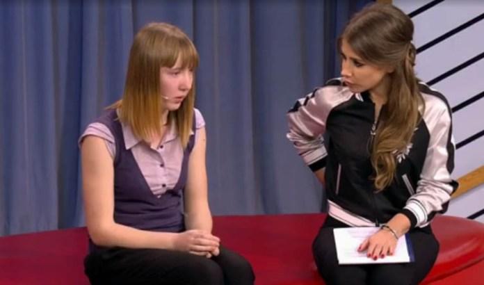 Фрагмент шоу. Фото: 1tv.ru