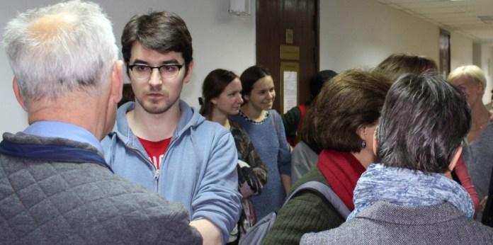 В коридоре суда. Фото: Валерий Поташов