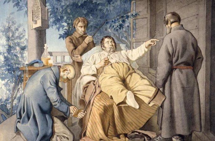 Репродукция картины Константина Трутовского