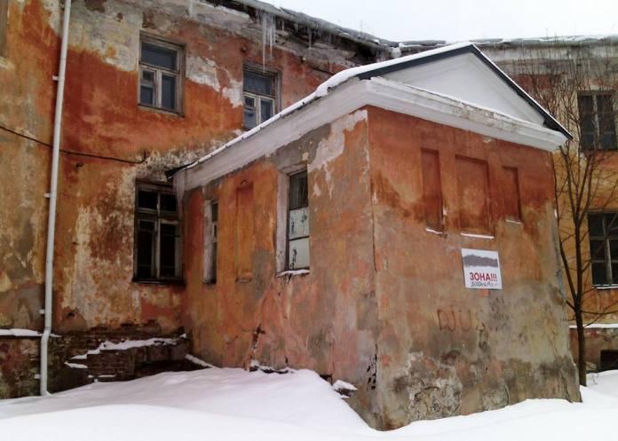 За фасадом Минкультуры Карелии. Фото: Валерий Поташов