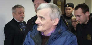 Исследователь сталинских репрессий Юрий Дмитриев находится под стражей почти год. Фото: Валерий Поташов