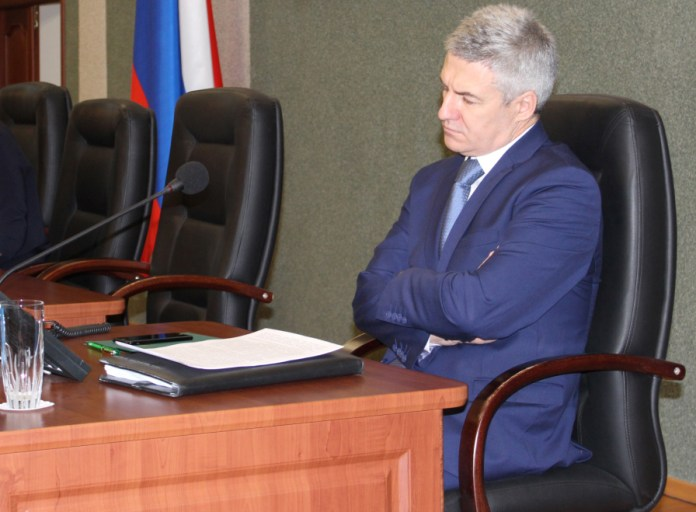 Глава Карелии Артур Парфенчиков. Фото: Валерий Поташов
