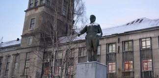 В Медвежьегорске. Фото: Алексей Владимиров