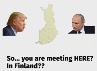 Путина и Трампа ждут в Хельсинки акции протеста. Фото со страницы сообщества Helsinki for human rights в социальной сети Facebook