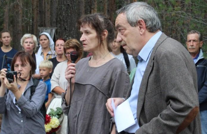 Выступает Ирина Флиге. Фото: Валерий Поташов