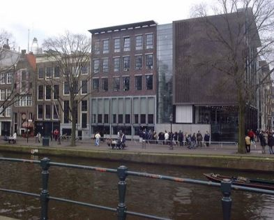 Facade Anne Frank House
