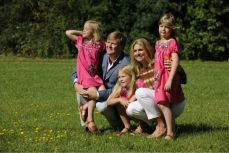 Dutch Royal family with His Majesty King Willem- Alexander