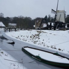 Holland in winter.